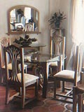 Dining Room Furniture Table Chairs Caribbean Coral