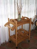 Furniture Accents Trolley Cart & Trays Reflections