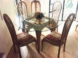 Furniture Gallery Café Table & Chairs Cabriole