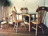 Furniture Accents Café Table & Chairs Lunar